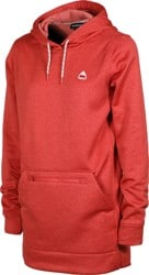 Burton Women's Oak Long Pullover Hoodie - cranberry heather