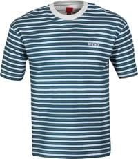 WKND Stripe T-Shirt - grey/green/blue