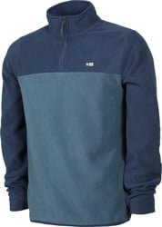 Salty Crew Ballast QTR Zip Fleece Sweatshirt - navy
