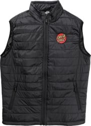 Santa Cruz Classic Dot Vest Jacket - black