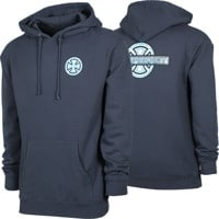 Independent Stained Glass Hoodie - slate blue
