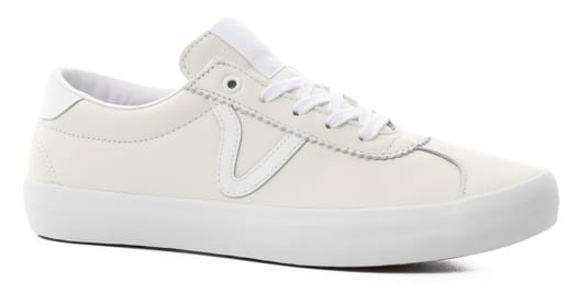 Vans Epoch Sport Pro Skate Shoes - white/white - view large