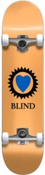Blind Heart 7.0 Mini Complete Skateboard - peach