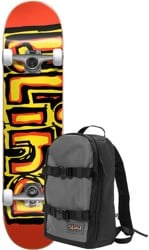 Blind Matte OG 7.75 Complete Skateboard (w/ Backpack) - bright red