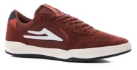 Lakai Atlantic Skate Shoes - burgundy suede