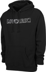 Lowcard Standard Outlined Hoodie - black
