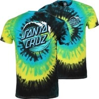 Santa Cruz Wave Dot T-Shirt - tropical breeze