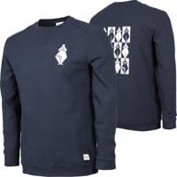 Gnu Forest Bailey 4 Eco Recycled Crew Sweatshirt - navy