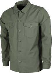 RVCA Fubar L/S Shirt - sequoia green