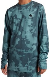 Burton Lightweight X Base Layer Top - dark slate resist dye