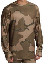 Burton Midweight Base Layer Crew - barren camo