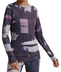 Burton Women's Midweight Base Layer Crew - desert dream