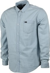 RVCA Hastings L/S Shirt - denim