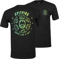 Spitfire Skate Like A Girl T-Shirt - black/fade