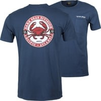 Dark Seas Chesapeake T-Shirt - dusty navy