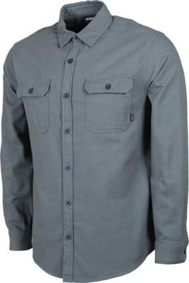 Burton Brighton Flannel Shirt - dark slate - view large