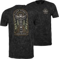 Roark Open Roads Open Minds T-Shirt - black