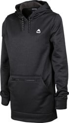 Burton Women's Oak Long Pullover Hoodie - true black heather