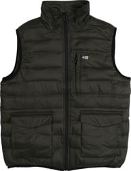 Salty Crew Barrier Packable Vest Jacket - military