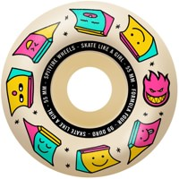 Spitfire Formula Four Radial Skateboard Wheels - skate like a girl/natural (99d)