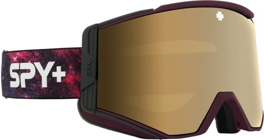 Spy Ace Goggles + Bonus Lens - galaxy purple/bronze-gold spectra + persimmon-silver lens - view large