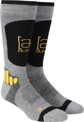 Burton AK Endurance Snowboard Socks - gray heather