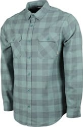 Burton Brighton Flannel Shirt - dark slate heather buffalo plaid