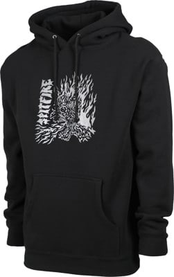 Spitfire Fiend Spitfire Hoodie - black - view large