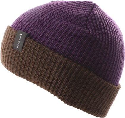 Autumn Select Blocked Beanie - purple - view large