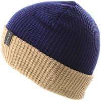 Autumn Select Blocked Beanie - navy