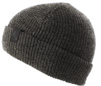 Autumn Simple Beanie - black marl