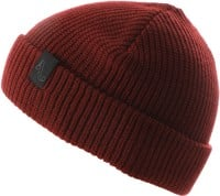 Autumn Simple Beanie - burgundy