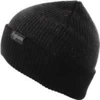 Autumn Speckled Beanie - black