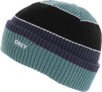 Obey Future Stripe Beanie - black multi