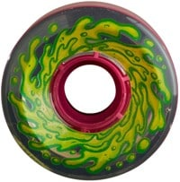 Santa Cruz Slime Balls Skateboard Wheels - clear/pink (78a)