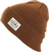 Coal Uniform Beanie - light brown