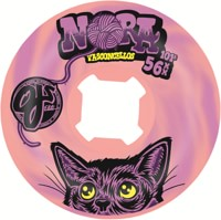 OJ Nora Elite EZ Edge Skateboard Wheels - pink/purple swirl (101a)