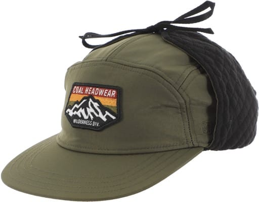 Coal Tracker Earflap 5-Panel Hat - olive - view large
