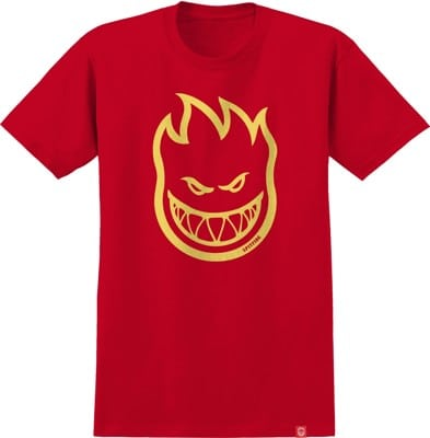 Spitfire Kids Bighead T-Shirt - red/yellow - view large