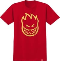 Spitfire Kids Bighead T-Shirt - red/yellow