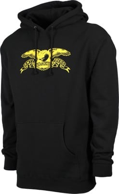 Anti-Hero Basic Eagle Hoodie - black/yellow - view large