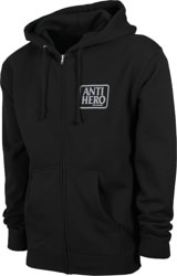 Anti-Hero Reserve Zip Hoodie - black/grey