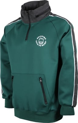 Spitfire LTB Pullover Track Jacket - dark green - view large