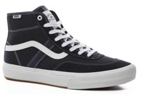 Vans Crockett Pro High Top Skate Shoes - ink/white