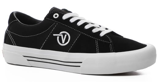 Vans Saddle Sid Pro Skate Shoes - view large