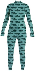 Airblaster Women's Hoodless Ninja Suit - mint fish
