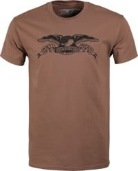 Anti-Hero Basic Eagle T-Shirt - coffee/black