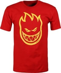Spitfire Bighead T-Shirt - red/yellow print