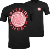 Spitfire Classic 87' Swirl T-Shirt - black/red/white