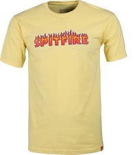 Spitfire Flash Fire T-Shirt - banana
